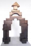 """""""Der Bau"""" . 50 x 32 x 10 cm . Bronze . Edition von 1/3 . 2018 . Preis inkl. MwSt: 4.500 Euro"""