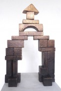 """Der Bau"" . 50 x 32 x 10 cm . bronze . Edition of 1/3 . 2018 . price incl. MwSt: 4.500 Euro"